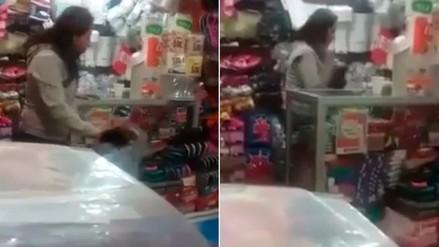 Facebook: madre golpea brutalmente a su hijo de 3 años en Pueblo Libre