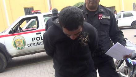 Huaral: sujeto agrede con pico de botella a efectivo policial