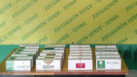 Detienen a sujeto con cerca de 5 mil cigarrillos de contrabando