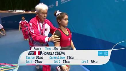 Pesista Fiorella Cueva se lesionó el brazo a pocos días de Río 2016