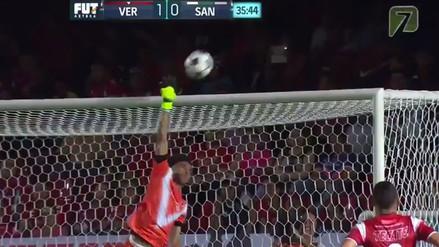 Video. Espectacular tapada de Pedro Gallese con Veracruz en la Liga MX