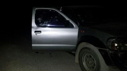 Huamanga: delincuentes disparan contra camioneta policial