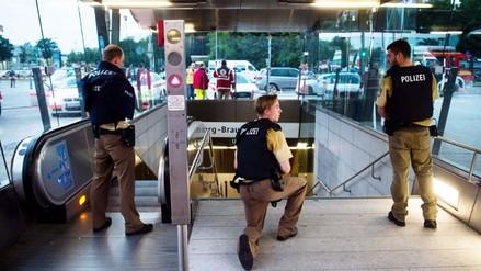 Fotos: así fue el tiroteo en un centro comercial de Múnich