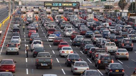 Fiestas Patrias: ¿Cuántos vehículos saldrán de Lima estos días?