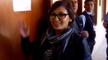 Cindy Arlette apeló sentencia de un año de prisión contra su agresor