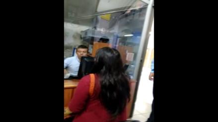 WhatsApp: Personal de Protransporte maltrata a estudiantes