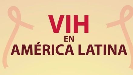 VIH en América Latina: los países con mayor incremento de casos
