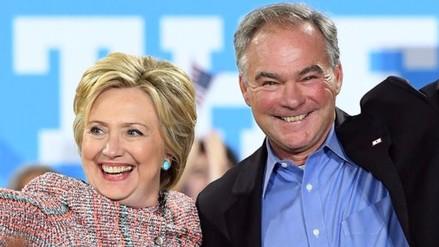 Hillary Clinton eligió a un hispanohablantecomo su vicepresidente