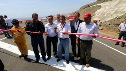 Chimbote: Humala colocó primera piedra en construcción de Vía de Evitamiento