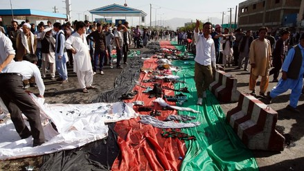 Atentado de ISIS en Afganistán deja al menos 60 muertos y 200 heridos