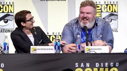Game of Thrones: Hodor recibió ovación en la Comic Con [VIDEO]