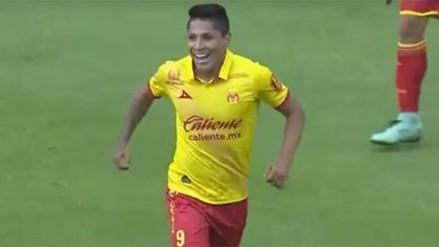 Raúl Ruidíaz anotó con Monarcas Morelia por la Liga MX