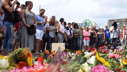 Cinco menores entre las nueve víctimas mortales del tiroteo de Múnich
