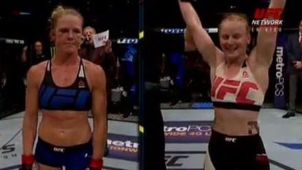 UFC: Valentina Shevchenko venció por decisión unánime a Holly Holm