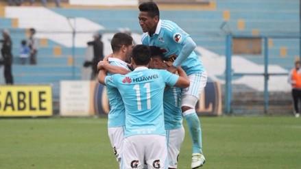 Sporting Cristal goleó 4-0 a UTC y alcanzó a Universitario en la punta