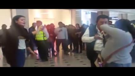 Mujer denuncia robo de billetera en conocido centro comercial en Surco