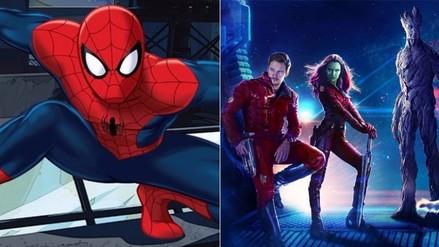 Marvel lanza tráilers de Spiderman y Guardians of the Galaxy 2 en Comic Con