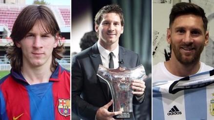 Lionel Messi: los 12 peinados que han marcado su carrera