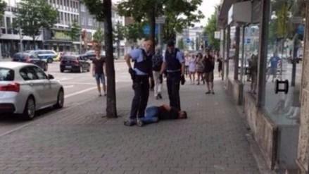 Video: refugiado sirio en Alemania mató a una mujer embarazada y dejó dos heridos
