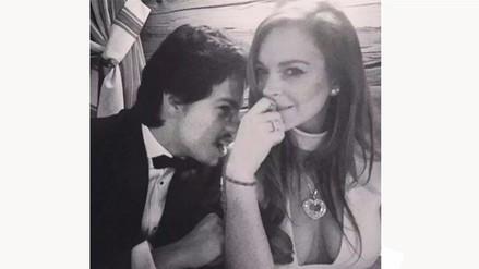 Lindsay Lohan: novio ruso habría intentado estrangularla
