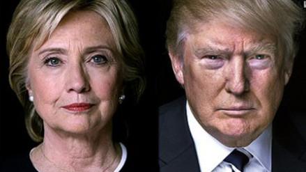 Donald Trump supera por tres puntos a Hillary Clinton en nueva encuesta
