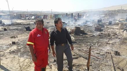 Nuevo Chimbote: damnificados de incendio piden más apoyo