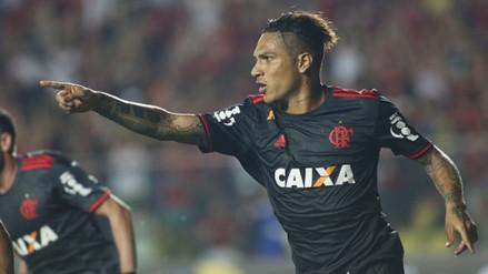 Paolo Guerrero marcó golazo con Flamengo ante el América Mineiro