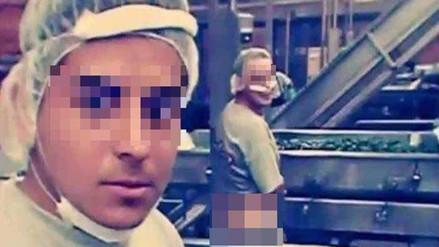 Twitter: empleados son captados orinando en una fábrica de enlatados