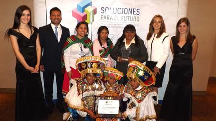 Arequipa: colegio de Orcopampa gana concurso de innovación