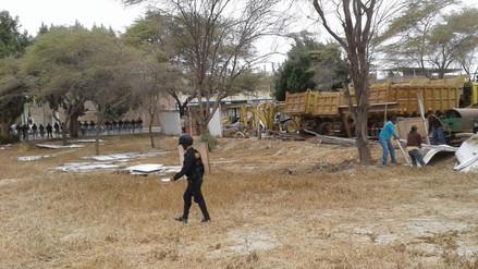 Piura: trabajan en recuperación de huaca El Bosque en Castilla