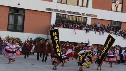 Huancayo: concurso de Santiago 2016 convocó a miles de espectadores