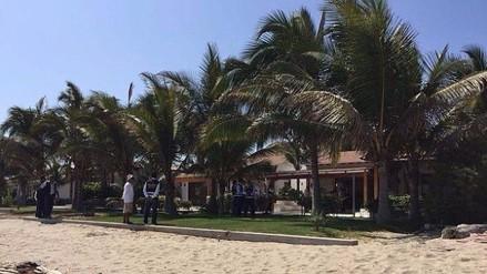 Incautan casa de Alejandro Toledo en balneario de Punta Sal