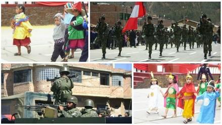 Fiestas Patrias: alistan desfile cívico escolar y militar en Huamachuco