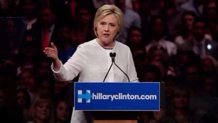 Hillary Clinton es oficialmente la candidata demócrata a la presidencia de EE.UU.
