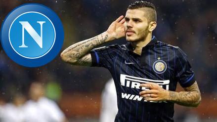 Mauro Icardi: la curiosa propuesta que ofreció Napoli por el delantero
