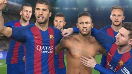 PES 2017: Barcelona será la imagen del videojuego