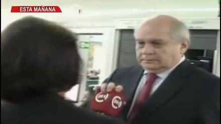 YouTube: Pedro Cateriano protagonizó este desplante a una reportera de TV Perú