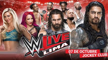 WWE: estos son los precios para ver su show en Lima