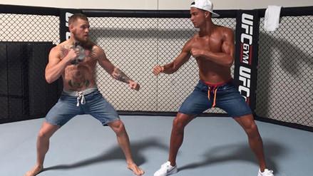 Cristiano Ronaldo desafió a Conor McGregor en un octágono de la UFC