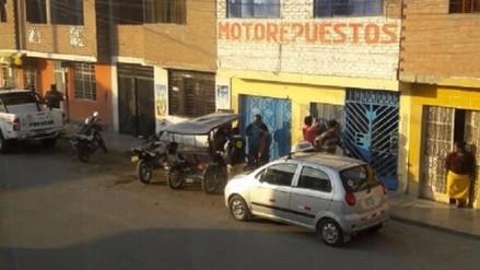 Allanaron taller donde se adulteraba kilometraje de motos de la Policía Nacional