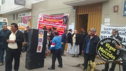 Médicos del Hospital de Barranca acatan paro de 48 horas