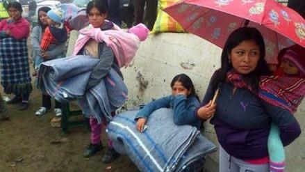 Chepén: Recolectan cinco toneladas de ropa y alimentos por friaje