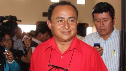 Jefe del INPE confirma que Gregorio Santos saldrá mañana de prisión