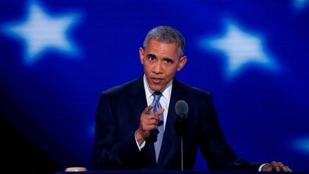 "Barack Obama: ""La grandeza de EE.UU. no depende de Donald Trump"""