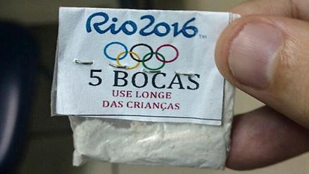 Brasil: narcotraficantes vendían cocaína con el logo de los Juegos Olímpicos