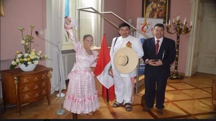 Marinera en Cracovia: Seminarista peruano bailará ante papa Francisco