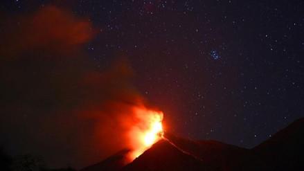 Guatemala: volcán de Fuego registra 39 explosiones en 24 horas