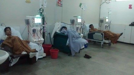 Chimbote: pacientes con insuficiencia renal en riesgo de no recibir tratamiento