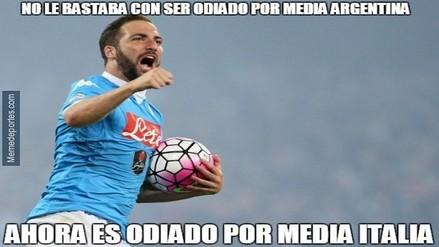Gonzalo Higuaín  aparecen  memes  tras ser presentado por Juventus ea0532a98310b