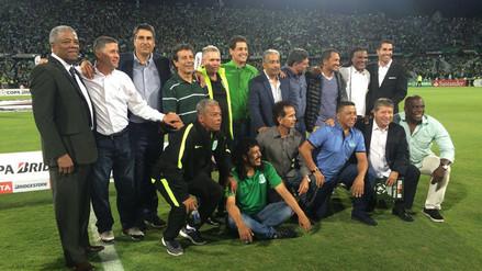 Atlético Nacional rindió homenaje a César Cueto en la Libertadores